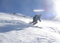 Carving up the off piste