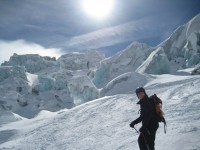 Ceracs on the Vallee Blanche