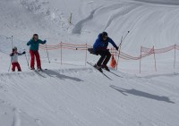 Boarder Cross at Grands Montets