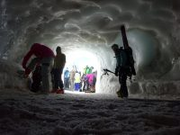 Ice cave Vallee Blanche