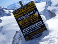Start of the Vallee Blanche