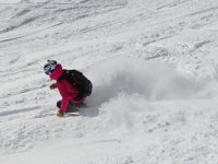 Powder skiing Brevent